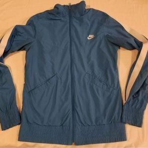 Vintage Nike Sportswear Womens Athletic Jacket Blu